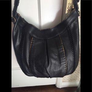 "The Sak ""Solana"" purse."